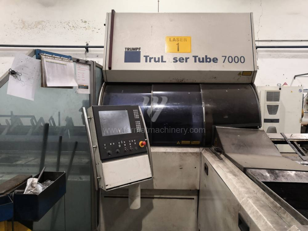TruLaser Tube 7000 CNC