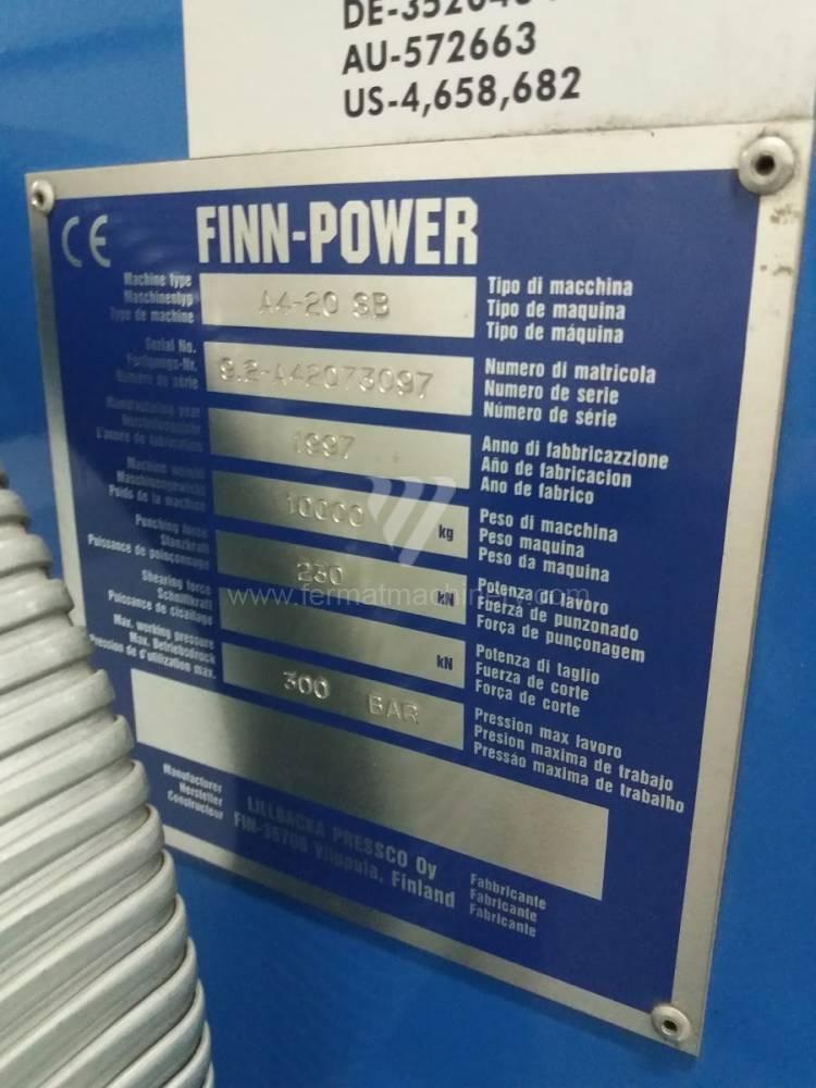 Finn Power A4-20 SB