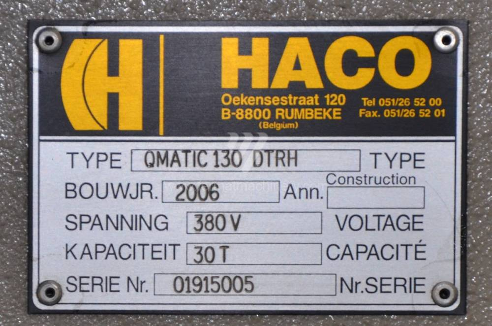 OMATIC 130 DTRH