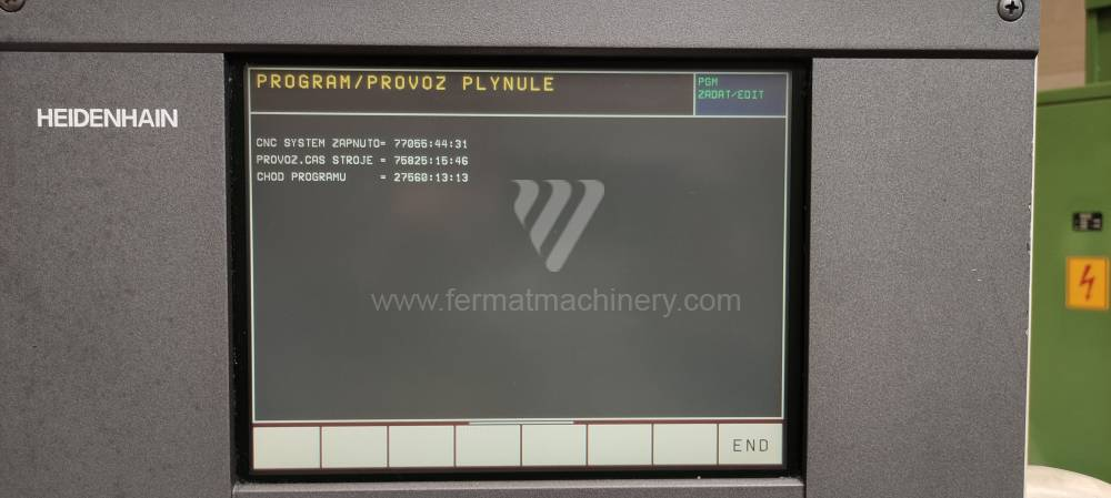 MCV 750 CNC