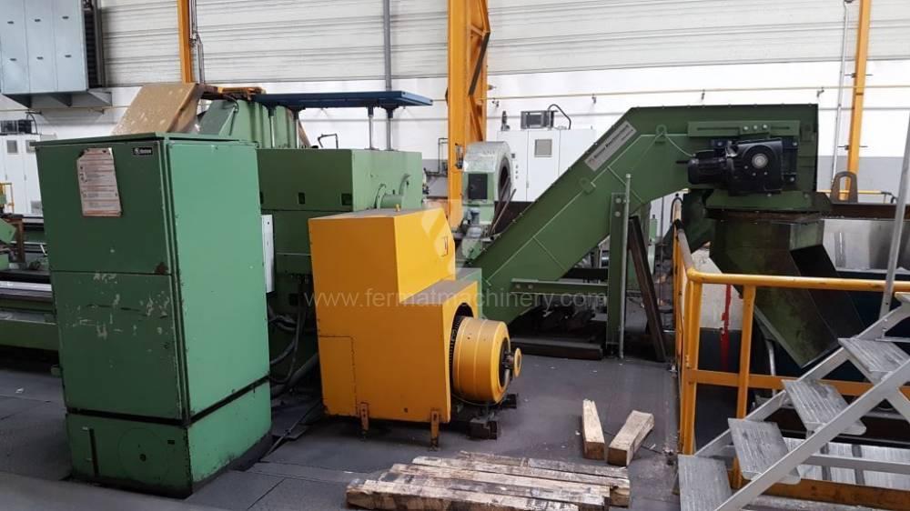 Drehmaschine / Spitzen - Durchmesser über 800 mm / SUA 125 P/12000