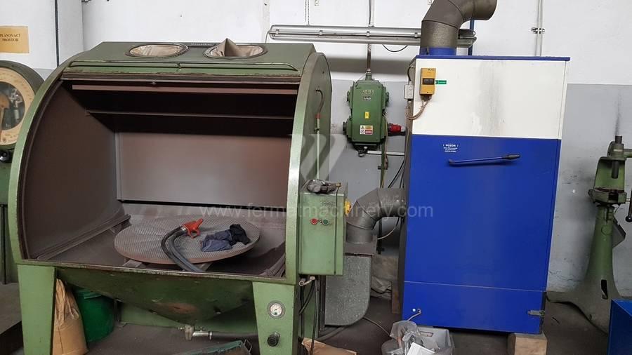 Tryskací kabina Hunziker ST 1400 + odsávání POC 20