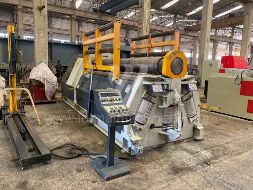 Bending roll machines / Plate / 4R HSS 30-350
