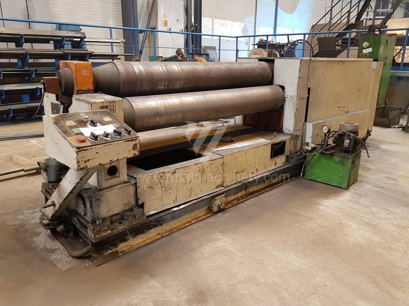 Bending roll machines / Plate / XZMP 2000/8 C