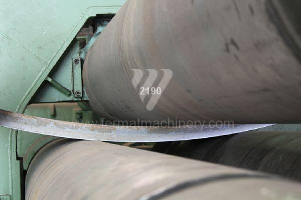 Bending roll machines / Plate / UBBDA 60x4500