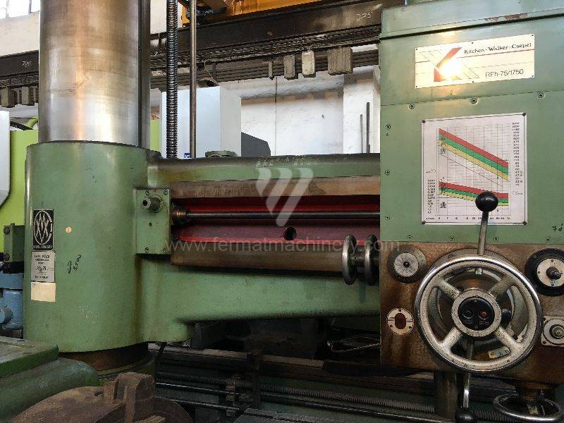 Boring and drilling machines / Radial / RFh 75/1750