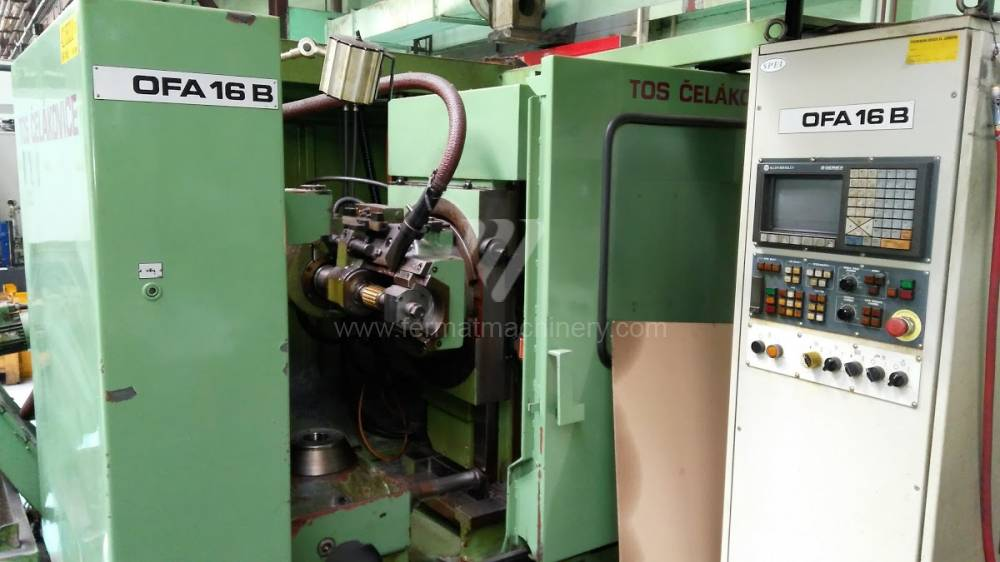 Gear machinery / Gear hobbing machine / OFA 16 B