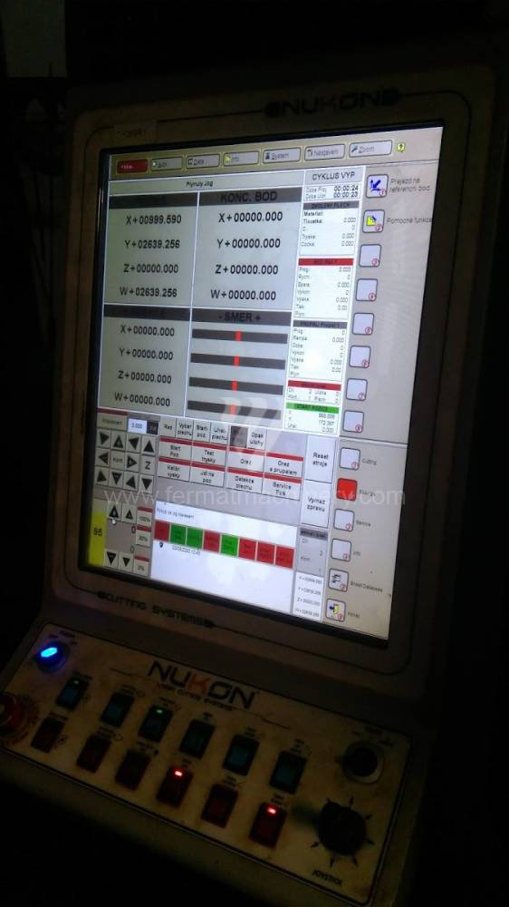 Machine ŕ coupeuse / Laser / NF - PRO - 420