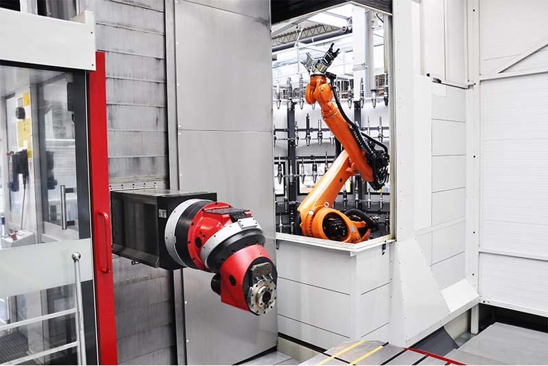 Werkzeugarena mit KUKA Roboter 96/125/189 - Image2