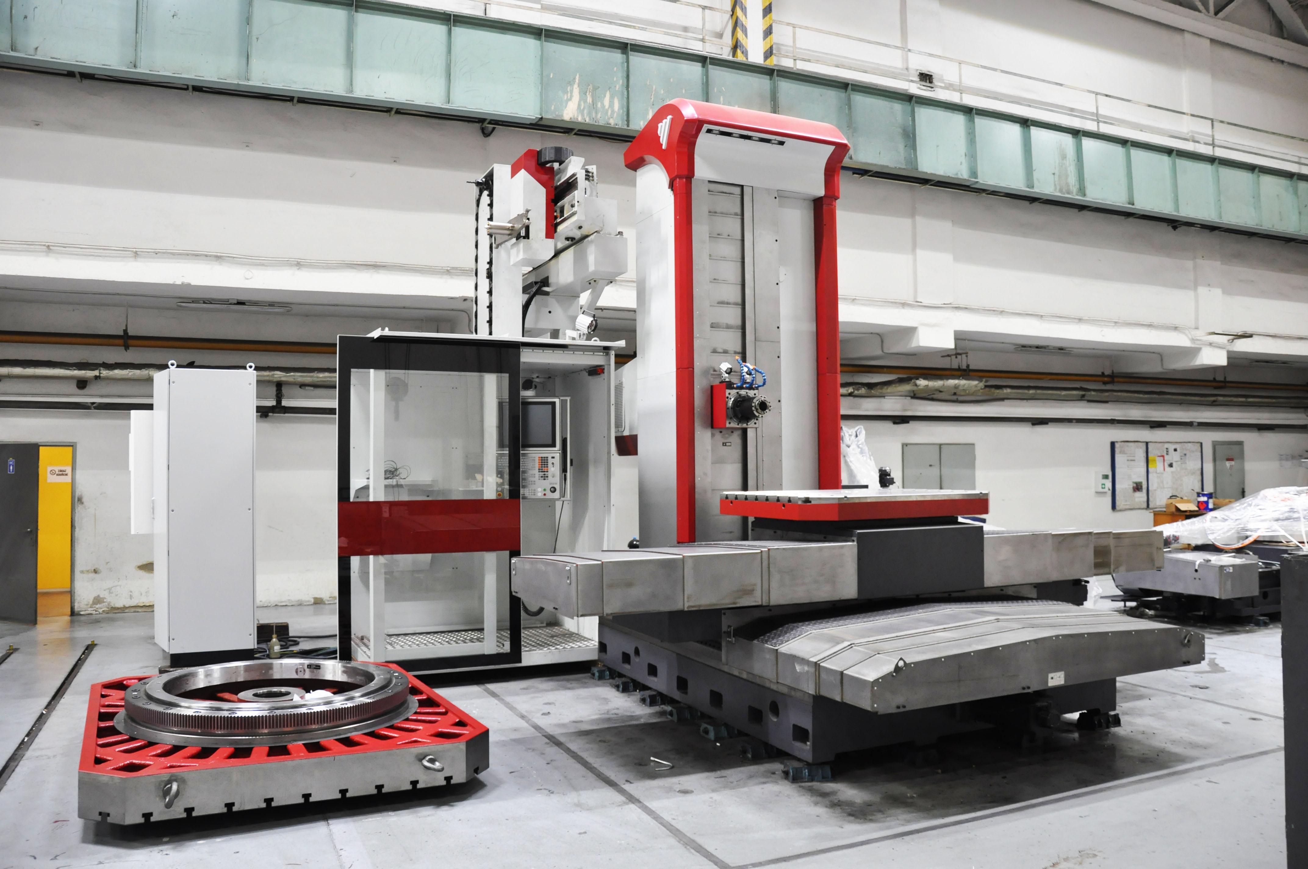 WXC 100 - horizontal table-type boring mill - Image2
